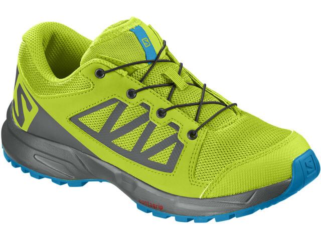 Salomon XA Elevate Løbesko Børn gul/grå (2019) | Running shoes